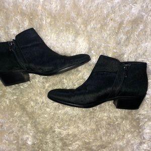 Sam Edelman Petty Calf Ankle Booties Black 7.5